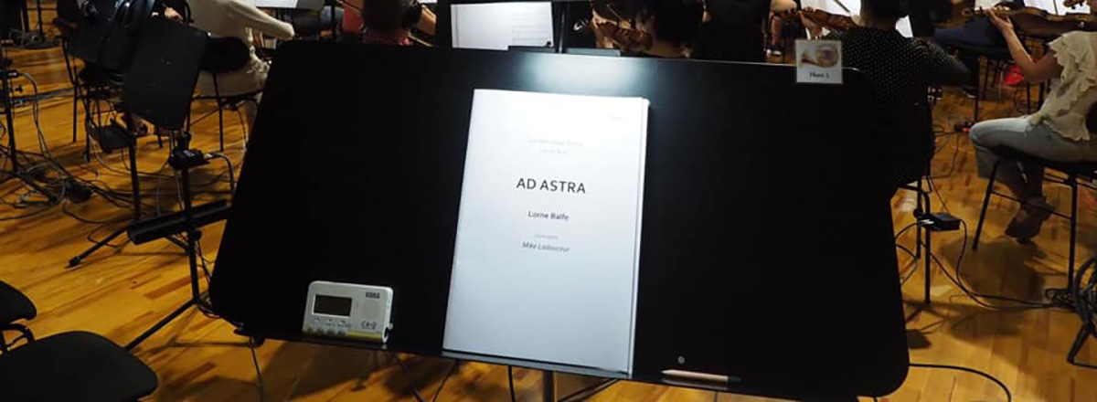 Ad Astra Score - Recorded at Synchron Stage Vienna