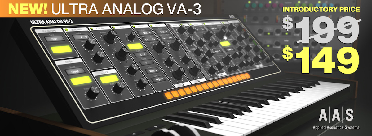 Ultra Analog VA-3 by AAS Now Available