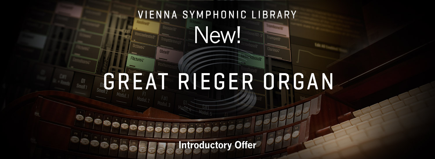 Great Rieger Organ - Now Available!