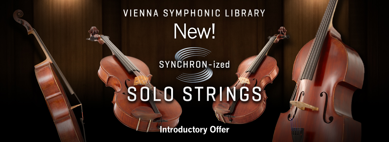 Vienna Reimagines Solo Strings for the Synchron Player