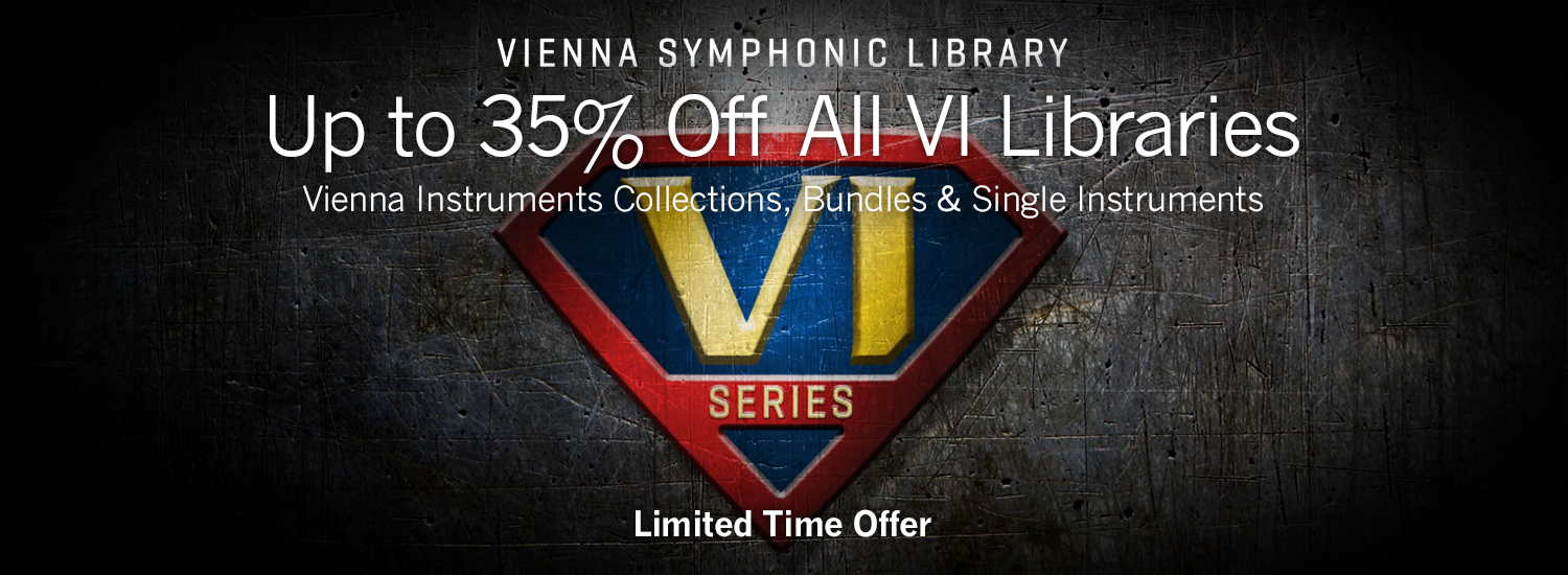 Up to 35% Off VI Libraries | MIRx Synchron Stage Released