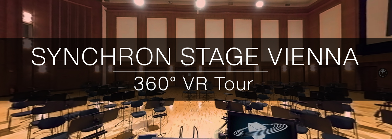 Take a virtual guided tour of Synchron Stage Vienna from your couch! Meet Product Manager Paul Kopf and Sales Manager Stefan Steinbauer on Stage A, get to know two of our musicians or move some faders on the Solid State Logic console with Chief Recording Engineer Bernd Mazagg.