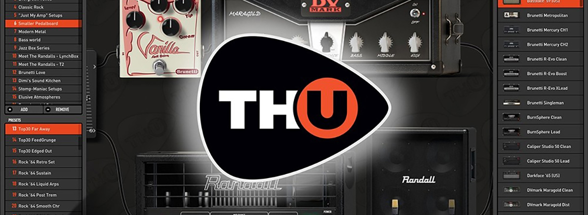 TH-U—Modeling Real Guitar Rigs in Software