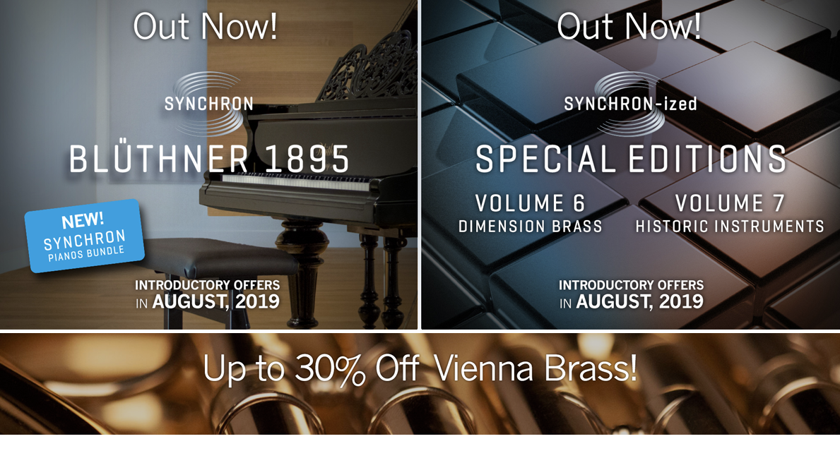Brand New Vienna Products and Up to 30% Off Brass