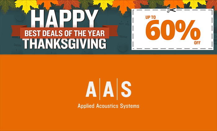 AAS Black Friday Deals!