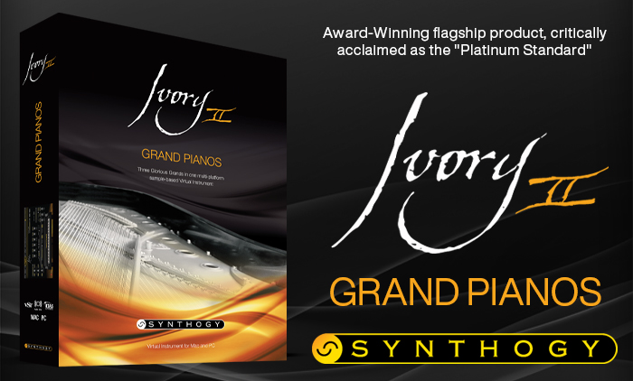 $100 Off Ivory II - Grand Pianos
