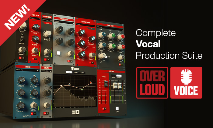 The Complete Vocal FX Plug-In from Overloud!