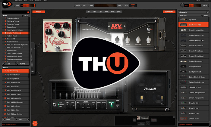 TH-U Guitar Amp Simulator