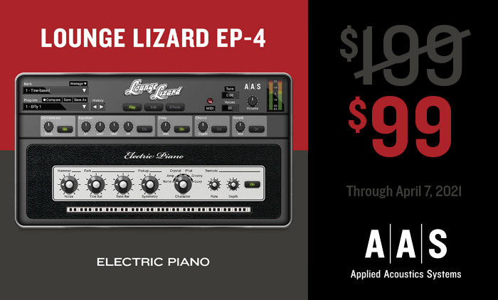 AAS Lounge Lizard on Sale for $99!