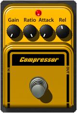 Mark Studio 2 Compressor Pedal