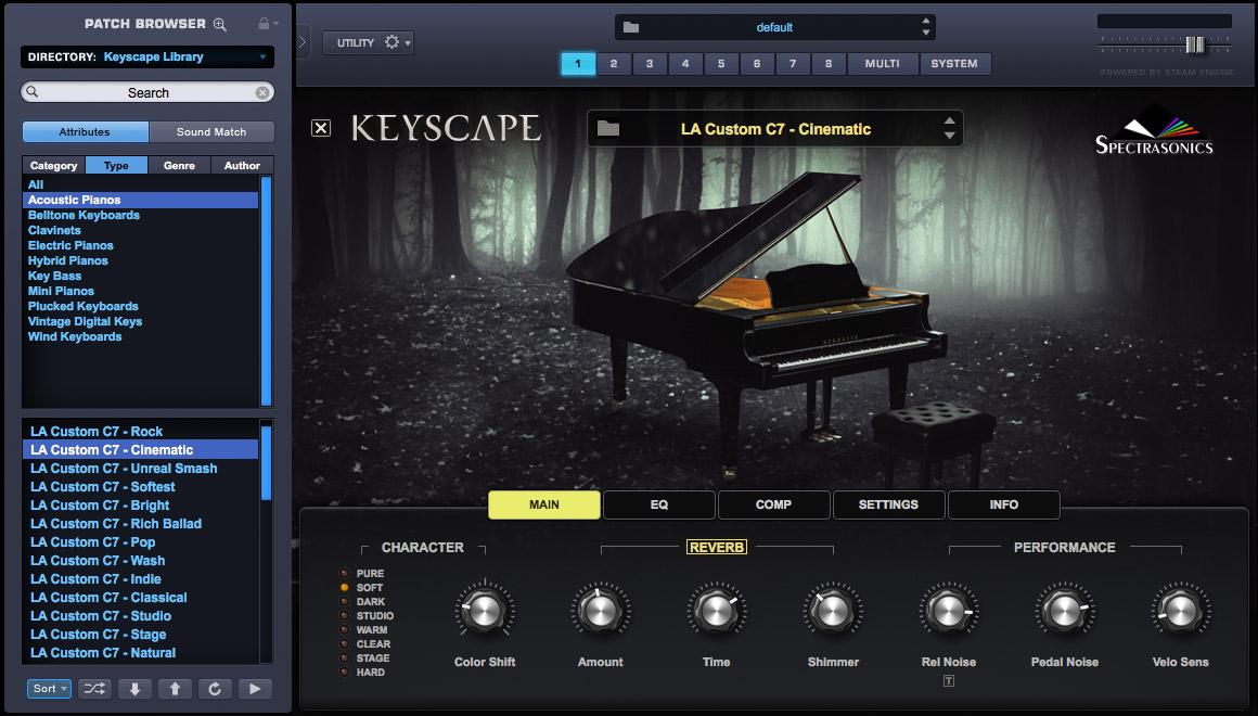 Keyscape and Omnisphere