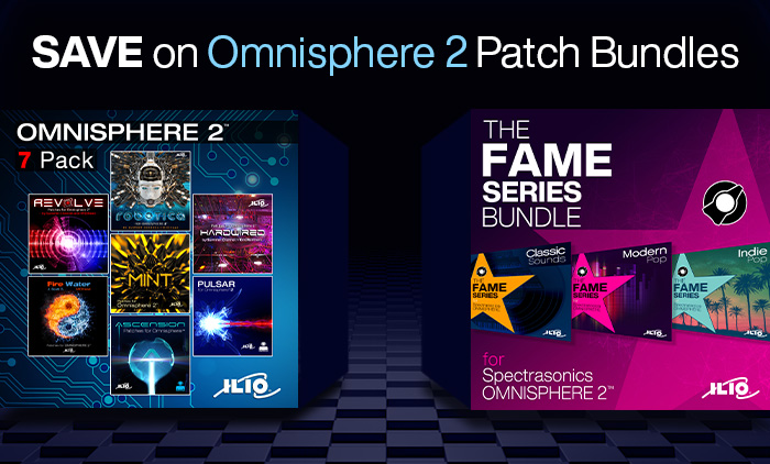 Save up to 59% on Patch Bundles for Omnisphere 2!
