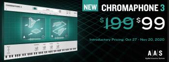 Chromaphone 3 by AAS Now Available