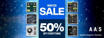 AAS Holiday Sale - 50% Off!