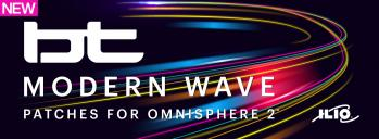 BT-Modern Wave — A Patch Library for Omnisphere 2.6