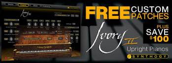 $100 Off Ivory II - Upright Pianos in October 2019