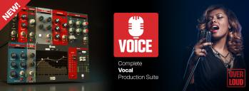 Overloud VOICE - Complete Vocal Production in One Plug-in