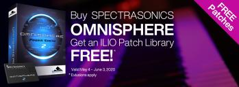 Order Omnisphere, Get a Free ILIO Patch Library