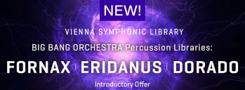 VSL's Big Bang Orchestra Introduces Percussion