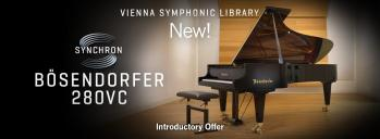 New Bösendorfer 280VC Piano from VSL