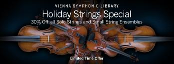 VSL STRINGS: 30% Off Solo Strings & Small String Ensembles