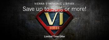 From now through April 1, 2020, Vienna is offering discounts of up to 50% on their VI Collections and Single Instruments. Take advantage of this unique opportunity and expand your symphonic arsenal!