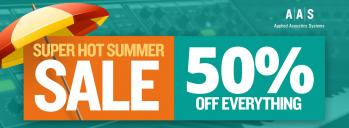 Summer Sale - 50% Off AAS Instruments, FX, and Sounds