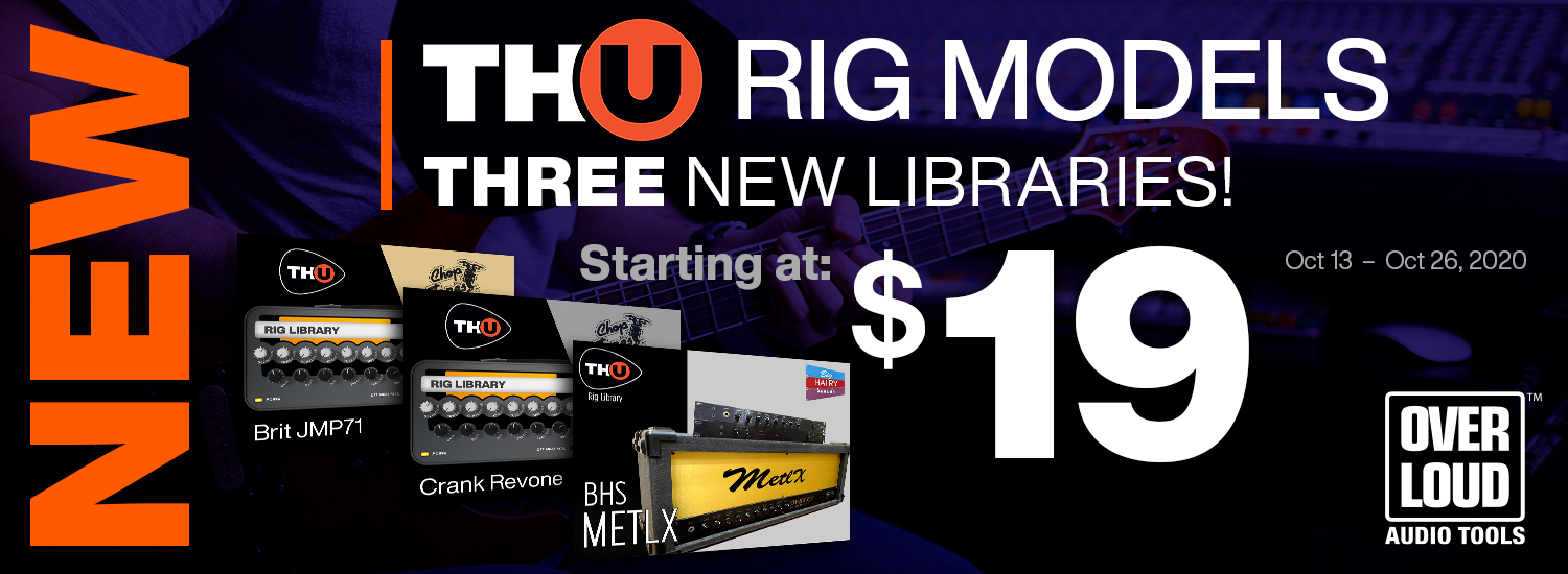 New TH-U Rig Libraries and Intro Pricing!